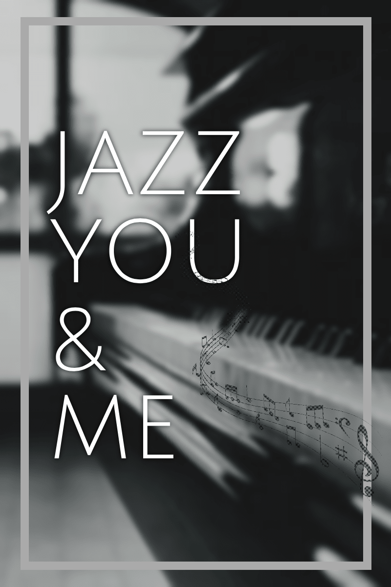 #poster #Jazz #music #love  Design  Template