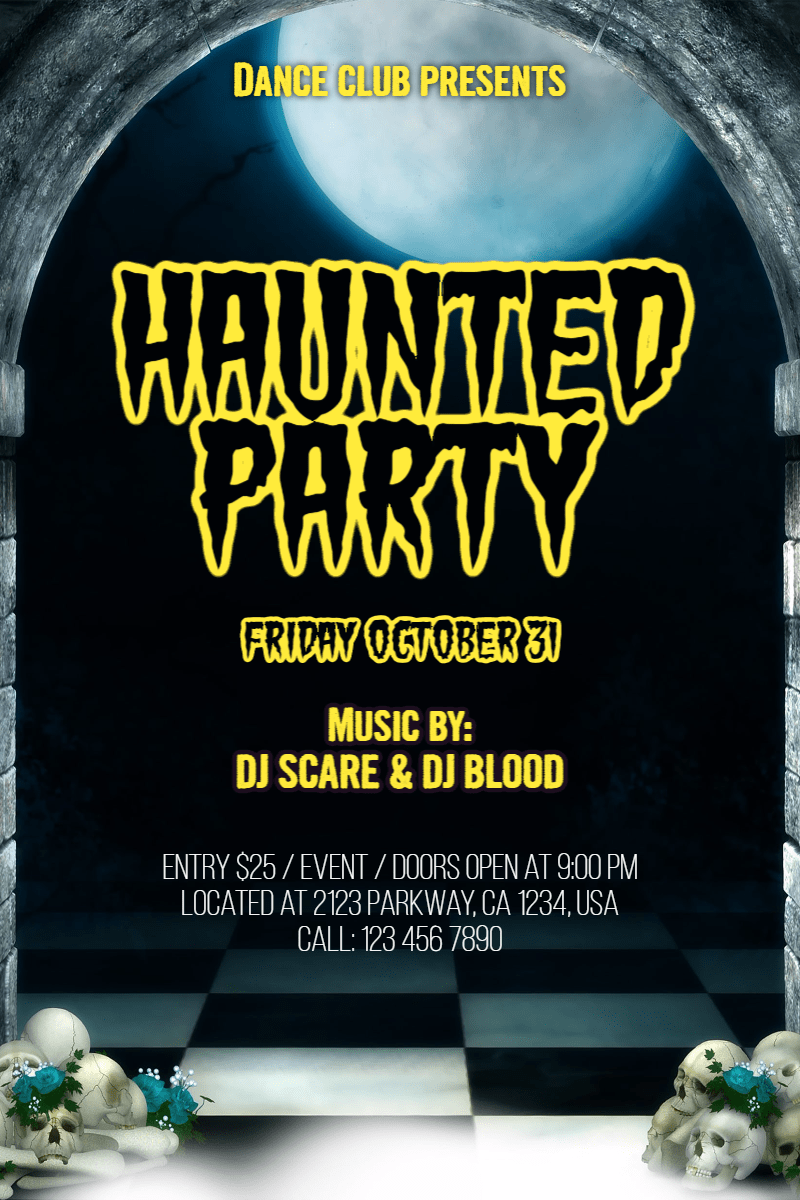 Advertising,                Text,                Font,                Invitation,                Halloween,                Party,                Dance,                Fun,                Haunted,                White,                Black,                 Free Image
