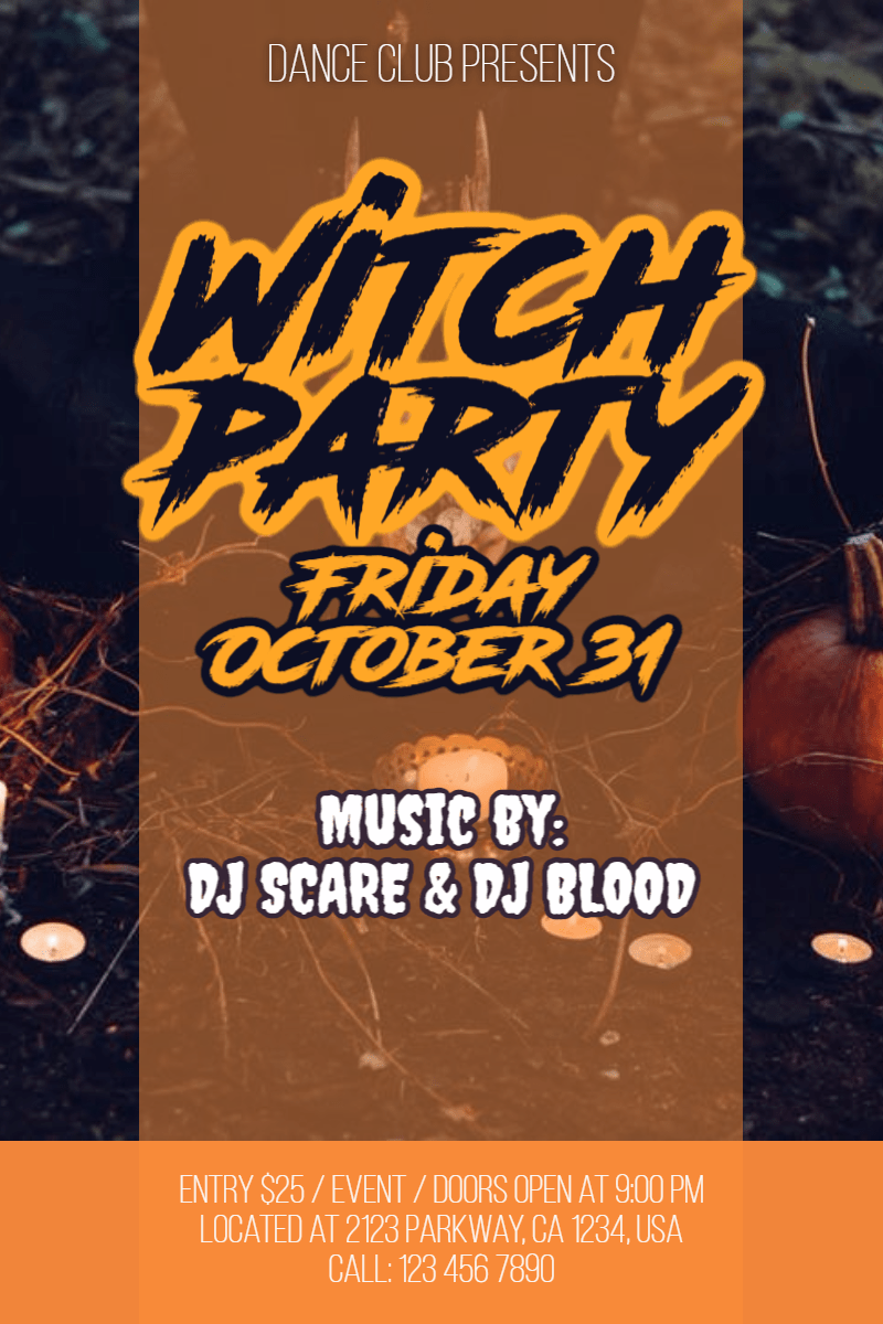 Text,                Font,                Advertising,                Orange,                Poster,                Graphic,                Design,                Flyer,                Brand,                Invitation,                Halloween,                Party,                Dance,                 Free Image