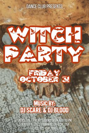Halloween party #invitation #halloween #party #dance #fun #haunted