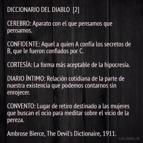 DICCIONARIO DEL DIABLO 2