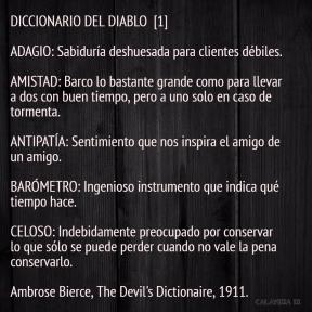 DICCIONARIO DEL DIABLO 1