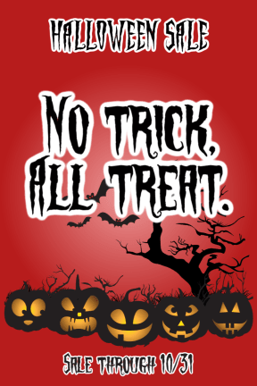 Halloween Sale #sale #poster #Halloween