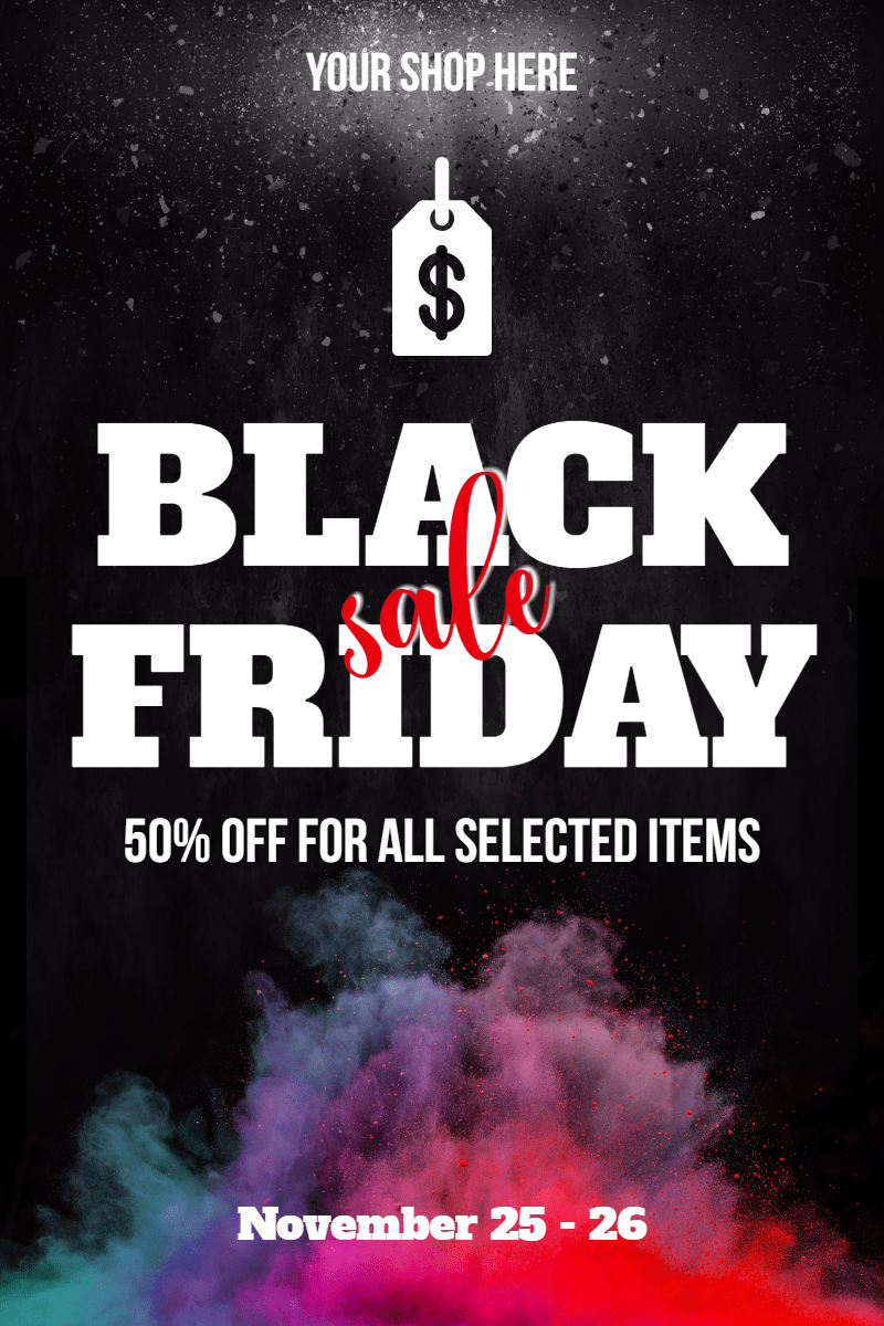 Black Friday #black friday #sale Design  Template