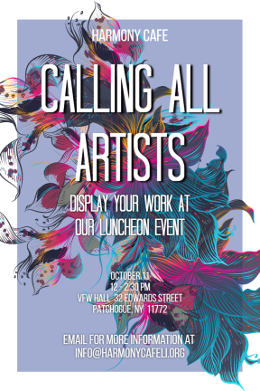 art event #event #invitation #poster #art #artists #cafe