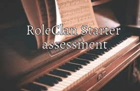 Roleclan assesment