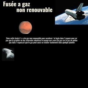 fusée pour mars