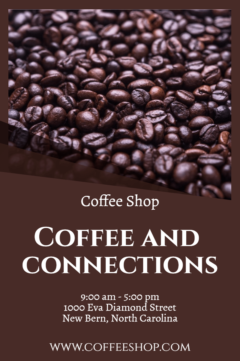 Coffee shop #business #shop Design  Template