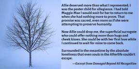 Allie Deserves More