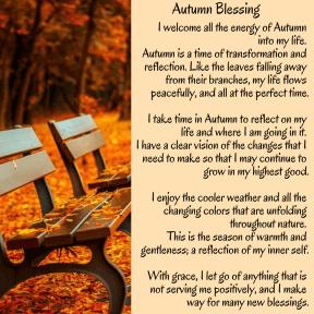 Autumn Blessing