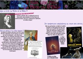 La Belle et la Bête - page documentaire