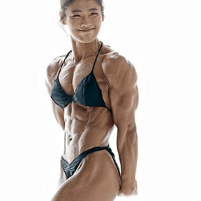 Muscular Asian ladies