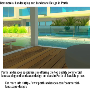 Commercial Landscaping and Landscape Design in Perth