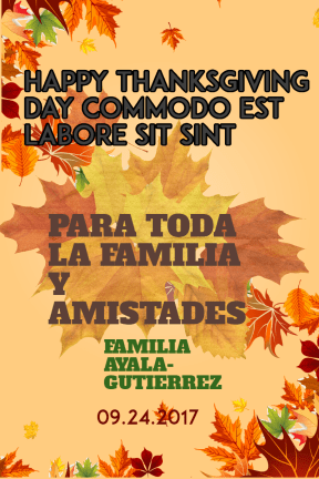 #autumn #fall #thanksgiving #poster #invitation