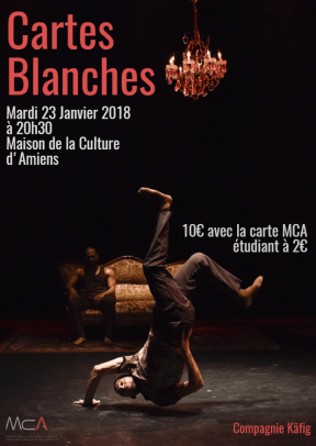 Cartes Blanches Flyer