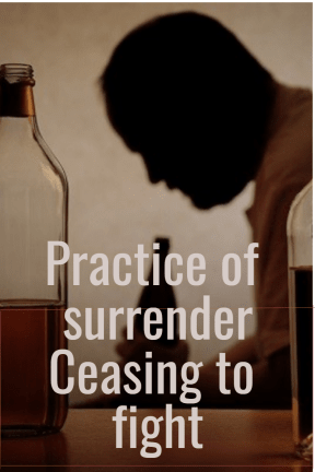 Practice of surrender recordings by recovery audio