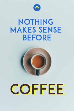 #coffee #poster #simple