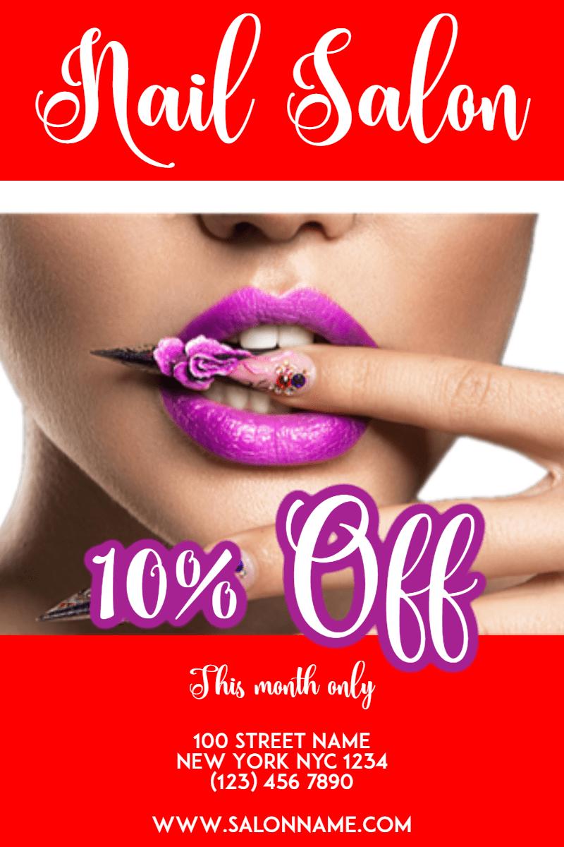 Nail,                Nailart,                Salon,                Beauty,                Business,                Poster,                White,                Red,                 Free Image