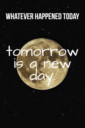 #poster #quote #moon #simple