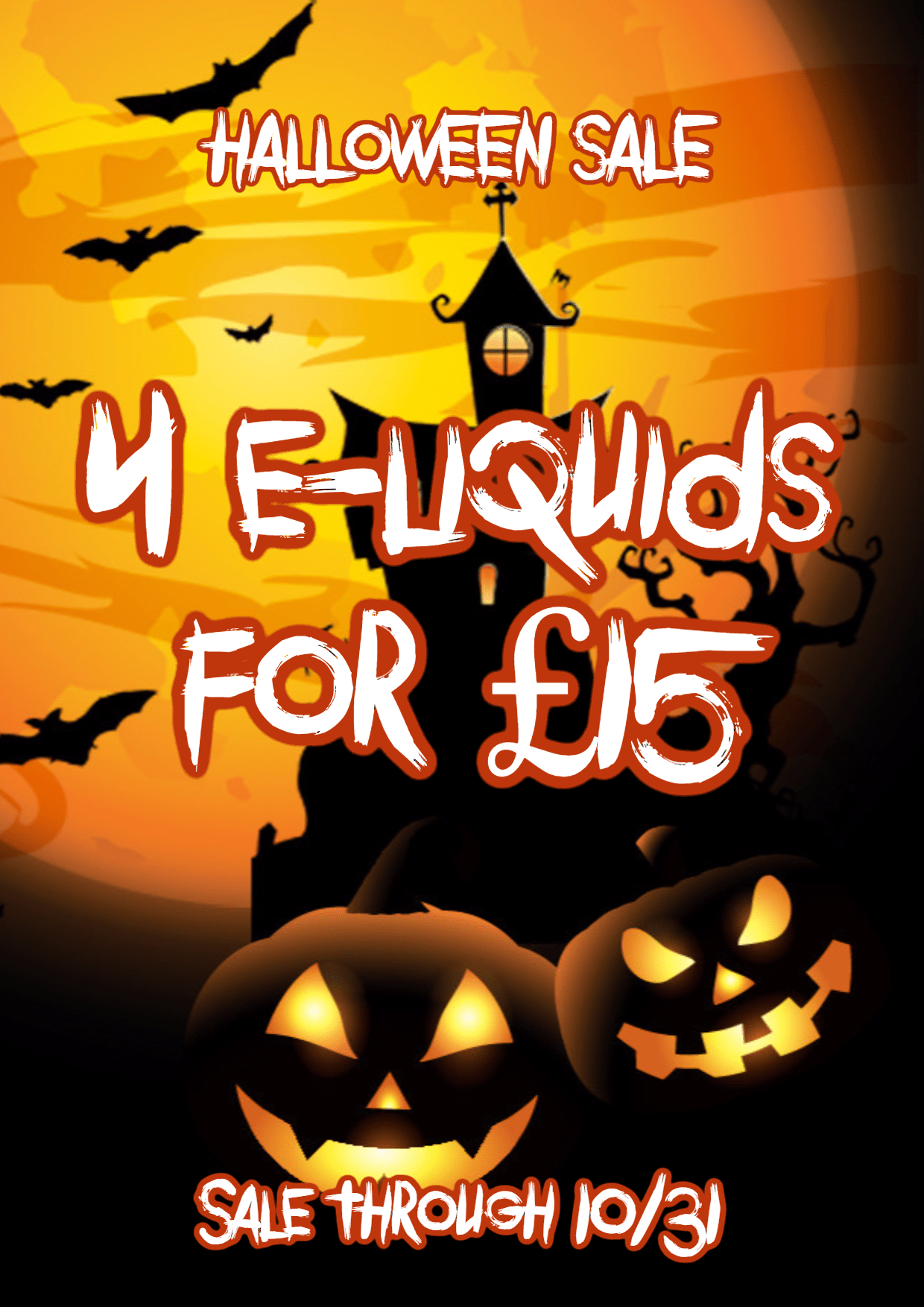 Sale,                Poster,                Halloween,                Black,                Yellow,                Red,                 Free Image