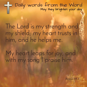 Psalm 33:4-6