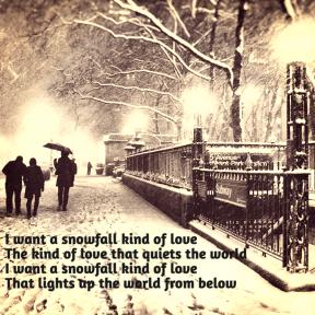 Snowfall love
