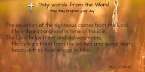 Psalm 37:39-40-t