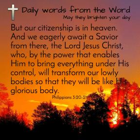 Philippians 3:20-21