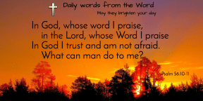 Psalm 56:10-11-t