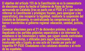 Pacto de traición de PP-PSOE-C`s