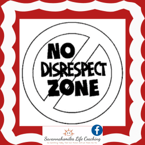 No Disrespect Zone