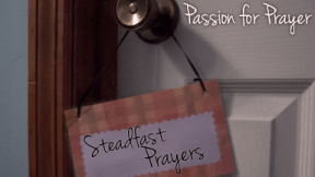 Thumb: Passion for Prayer