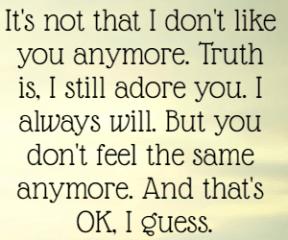 #you #gone #loveyou #anymore #OK