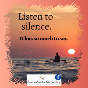 Listen to Silence...