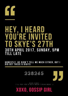 #invitation #announcement #business