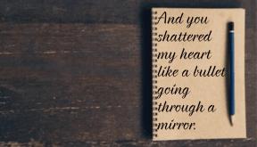 #broken #gone #left #mirror #bullet