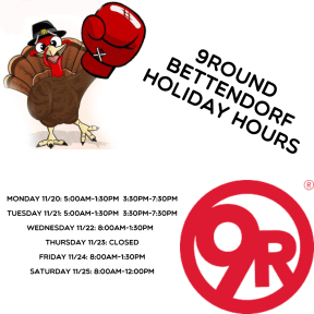 thanksgiving hours