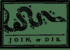 join or die flag big