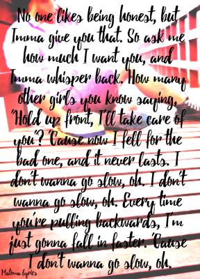 #Matoma #lyrics #girls #Slow #back #askme #honesty #NoahCyrus #takecare #faster