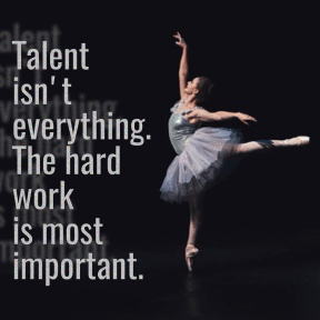 Talent and work