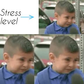 Stress level Meme