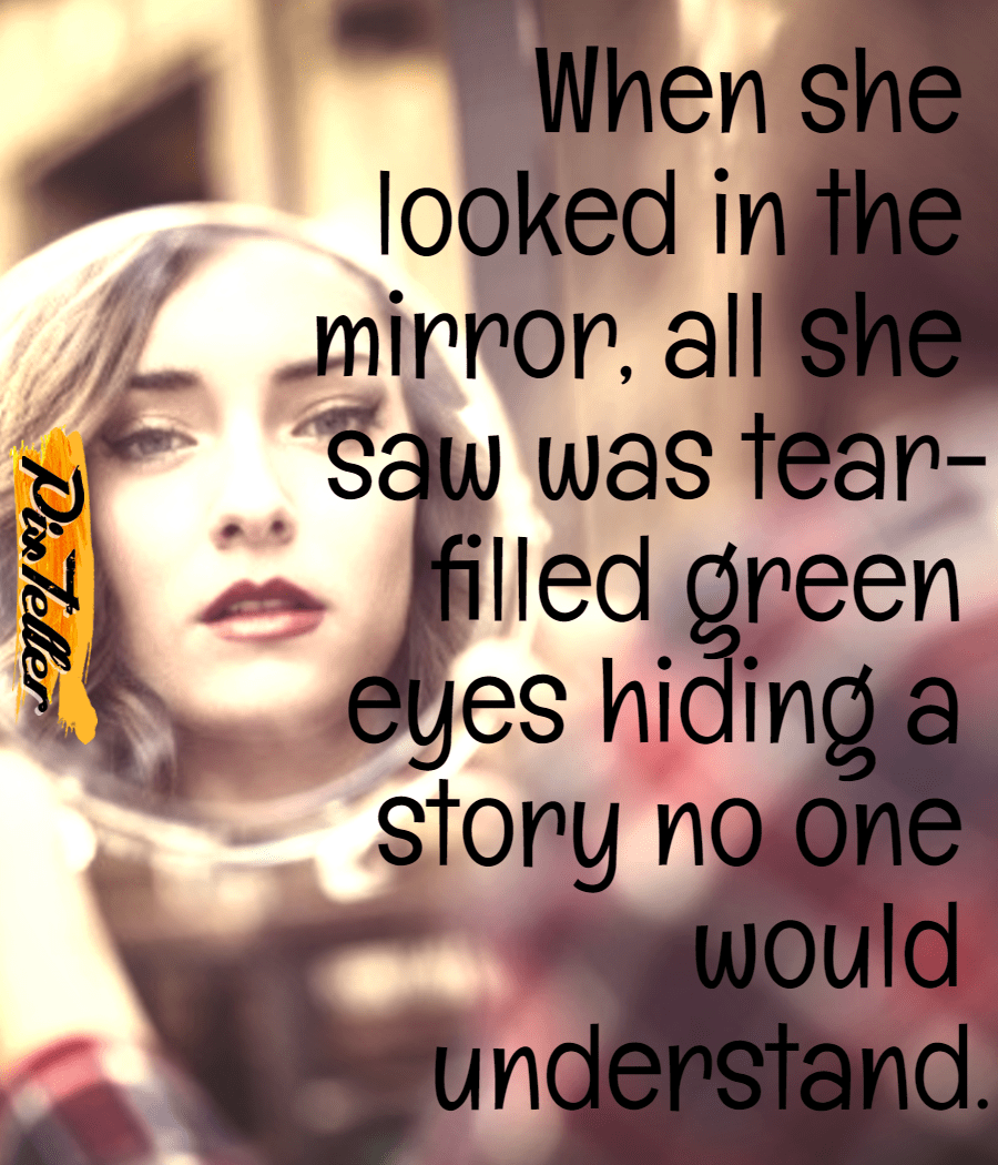 Mirror,                Looked,                Eyes,                Green,                Me,                Sad,                Story,                Alone,                White,                Black,                Red,                 Free Image