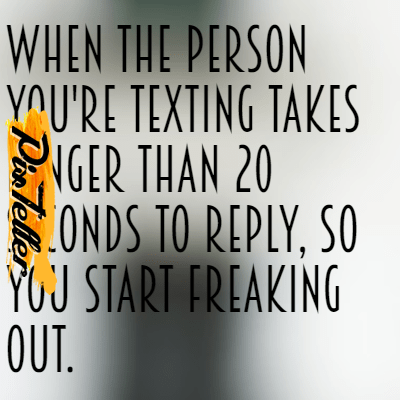 Texting,                Fast,                Long,                Freakout,                Seconds,                White,                Black,                 Free Image