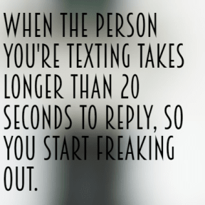 #texting #fast #long #freakout #seconds