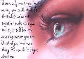 #onething #amazing #you #respect #me #dontforget