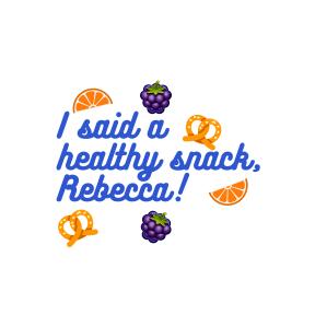Healthy Snack, Rebecca Vine