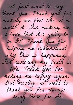 #thankyou #worthit #believe #OK #understand #faith #happy