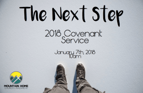 2018 Covenant service