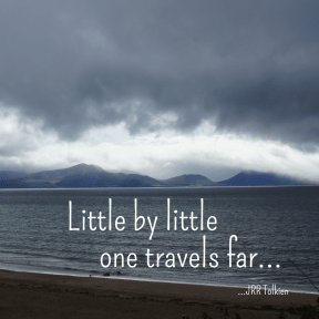 One travels far