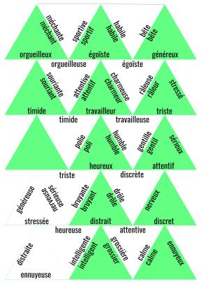 domino vocabulaire